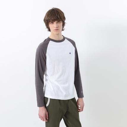 ラグランロングスリーブTシャツ 17FW ベーシック チャンピオン(C3-J425)