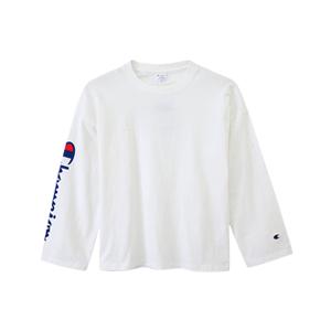 ユニセックス ロングスリーブTシャツ 17FW キャンパス チャンピオン(C3-L415)