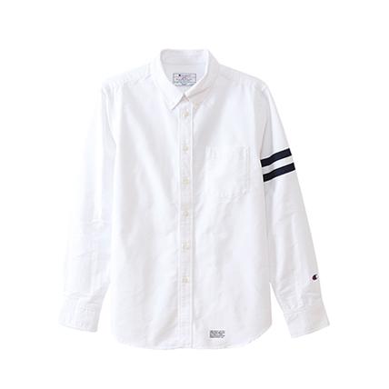 ロングスリーブボタンダウンシャツ 17FW 【秋冬新作】キャンパス チャンピオン(C3-L419)