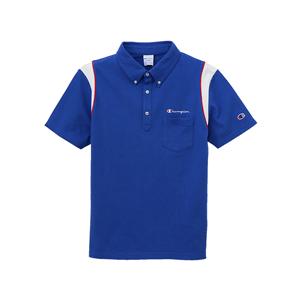 パイピングポロシャツ 17FW GOLF チャンピオン(C3-LS361)