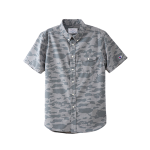 ショートスリーブボタンダウンシャツ 18SS 【春夏新作】キャンパス チャンピオン(C3-M343)