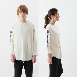 ユニセックス ラグランスリーブロングTシャツ 18SS 【春夏新作】キャンパス チャンピオン(C3-M410)