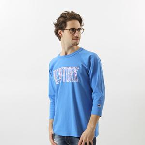 T1011(ティーテンイレブン) ラグラン3/4スリーブ【7分袖】Tシャツ 17FW MADE IN USA チャンピオン(C5-L401)
