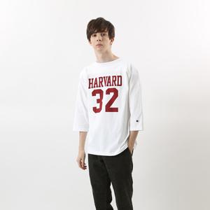 T1011(ティーテンイレブン) ラグラン3/4スリーブ【7分袖】フットボールTシャツ 17FW MADE IN USA チャンピオン(C5-L403)