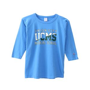 T1011(ティーテンイレブン) ラグラン3/4スリーブ【7分袖】Tシャツ 18SS 【春夏新作】MADE IN USA チャンピオン(C5-M401)