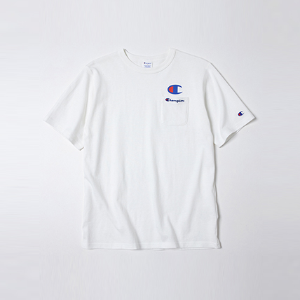 ロゴポケットTシャツ 18SS スタンダード チャンピオン(C8-H304)