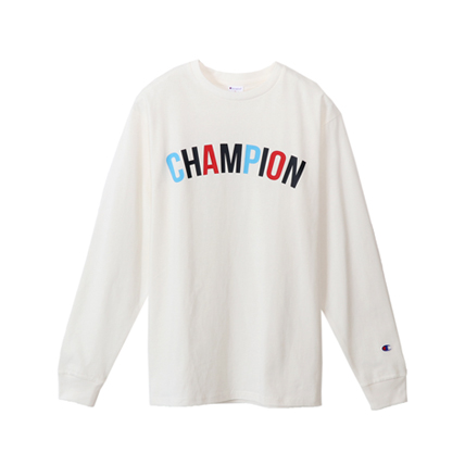 プリントロングスリーブTシャツ 18SS 【春夏新作】スタンダード チャンピオン(C8-M401)