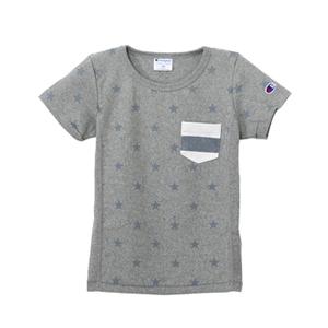 キッズ リバースウィーブポケット付きTシャツ 16SS リバースウィーブ チャンピオン(CS3804)