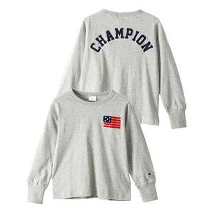 キッズ ロングスリーブTシャツ 17FW キャンパス チャンピオン(CS4320)