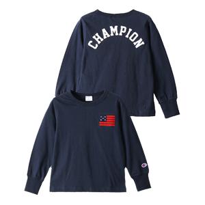 キッズ ロングスリーブTシャツ 17FW 【秋冬新作】キャンパス チャンピオン(CS4320)