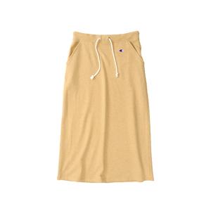 ウィメンズ ロングスウェットスカート 18SS チャンピオン(CW-K220)