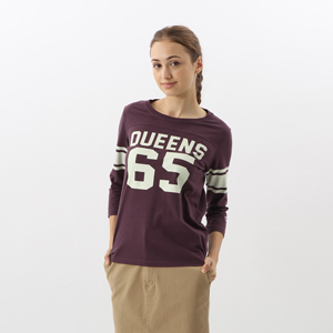 ウィメンズ 3/4スリーブ【7分袖】フットボールTシャツ 17FW 【秋冬新作】チャンピオン(CW-L401)