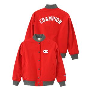 ウィメンズ スナップベースボールジャケット 17FW チャンピオン(CW-L601)