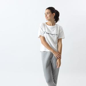 ウィメンズ DUALFINE Tシャツ 17FW 【秋冬新作】TRAINING チャンピオン(CW-LS301)