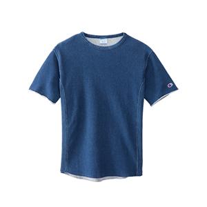 ウィメンズ リバースウィーブショートスリーブクルーネックスウェットシャツ(10oz) 18SS 【春夏新作】チャンピオン(CW-M003)