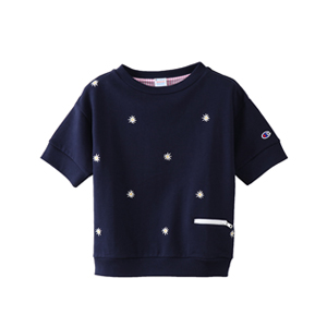 ウィメンズ ショートスリーブスウェットシャツ 18SS 【春夏新作】チャンピオン(CW-M012)