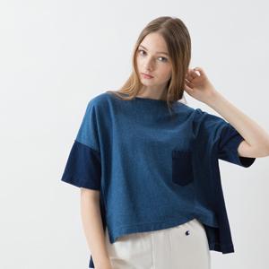 ウィメンズ リバースウィーブショートスリーブポケットTシャツ 18SS 【春夏新作】チャンピオン(CW-M302)