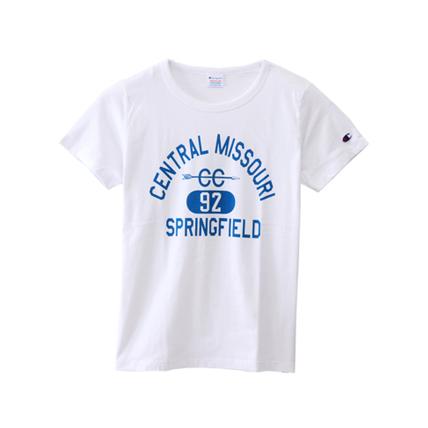 ウィメンズ Tシャツ 18SS 【春夏新作】チャンピオン(CW-M317)