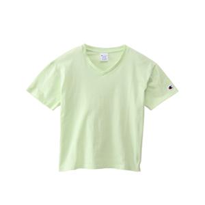 ウィメンズ VネックTシャツ 18SS 【春夏新作】チャンピオン(CW-M323)