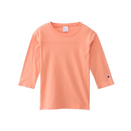 ウィメンズ 3/4スリーブ【7分袖】フットボールTシャツ 18SS 【春夏新作】チャンピオン(CW-M409)