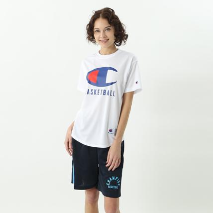 ウィメンズ DRYSAVER Tシャツ 18SS 【春夏新作】CAGERS チャンピオン(CW-MB356)