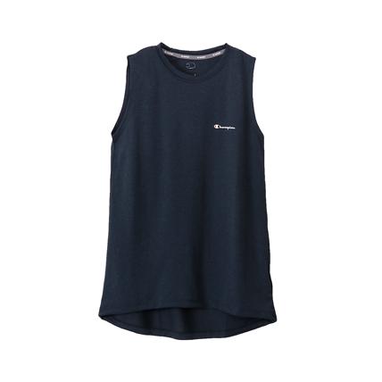 ウィメンズ C VAPOR ノースリーブTシャツ 18SS 【春夏新作】アクティブスタイル チャンピオン(CW-MS317)