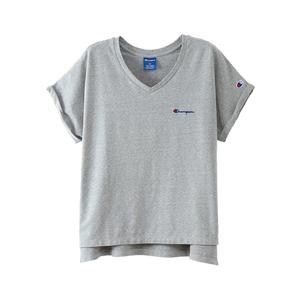 ウィメンズ VネックTシャツ 18SS 【春夏新作】アクティブスタイル チャンピオン(CW-MS323)