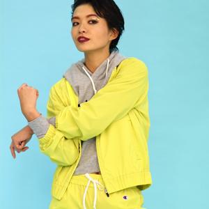 ウィメンズ DOT AIR フルジップジャケット 18SS 【春夏新作】アクティブスタイル チャンピオン(CW-MSC02)