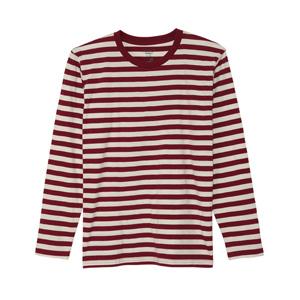 ボーダーロングスリーブTシャツ 15FW ヘインズカジュアル ヘインズ(H3-C402)