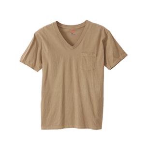 ポケット付きVネックTシャツ 18SS 【春夏新作】ヘインズスポーツウェア ヘインズ(H3-M311)