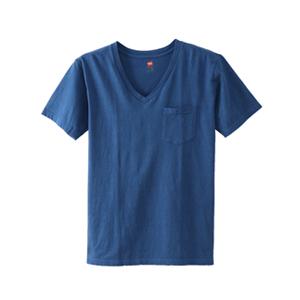 ポケット付きVネックTシャツ 18SS 【春夏新作】ヘインズスポーツウェア ヘインズ(H3-M313)