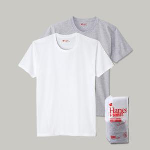 ジャパンフィット【2枚組】クルーネックTシャツ 17FW Japan Fit ヘインズ(H5120)