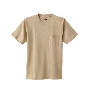 ビーフィーポケットTシャツ 17FW BEEFY-T ヘインズ(H5190)