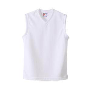 キッズ 【2枚組】 部活魂Vネックスリーブレスシャツ 17FW 魂シリーズ ヘインズ(HB3-H701)