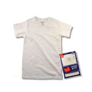 キッズ 【2枚組】 Tシャツ 17FW ヘインズ(HBJB-100)