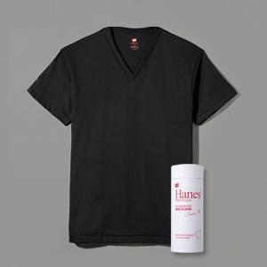 ヘインズ プレミアムジャパンフィット VネックTシャツ 18SS PREMIUM Japan Fit(HM1-F002)