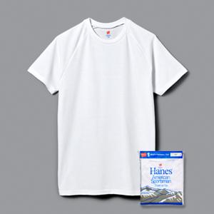 クルーネックラグランTシャツ 17FW 【秋冬新作】Two Layer ヘインズ(HM1-L501)