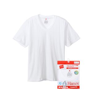 X-TEMP VネックTシャツ 18SS【春夏新作】グローバルバリューライン ヘインズ(HM1EM202)