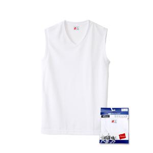 部活魂 Vネックスリーブレスシャツ 17FW 魂シリーズ ヘインズ(HM3-K204)