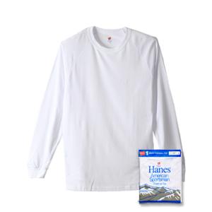 クルーネックラグランロングスリーブTシャツ 17FW 【秋冬新作】Two Layer ヘインズ(HM4-L503)