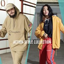 進化したストリートカジュアルコレクション「ACTION STYLE」特設ページ公開