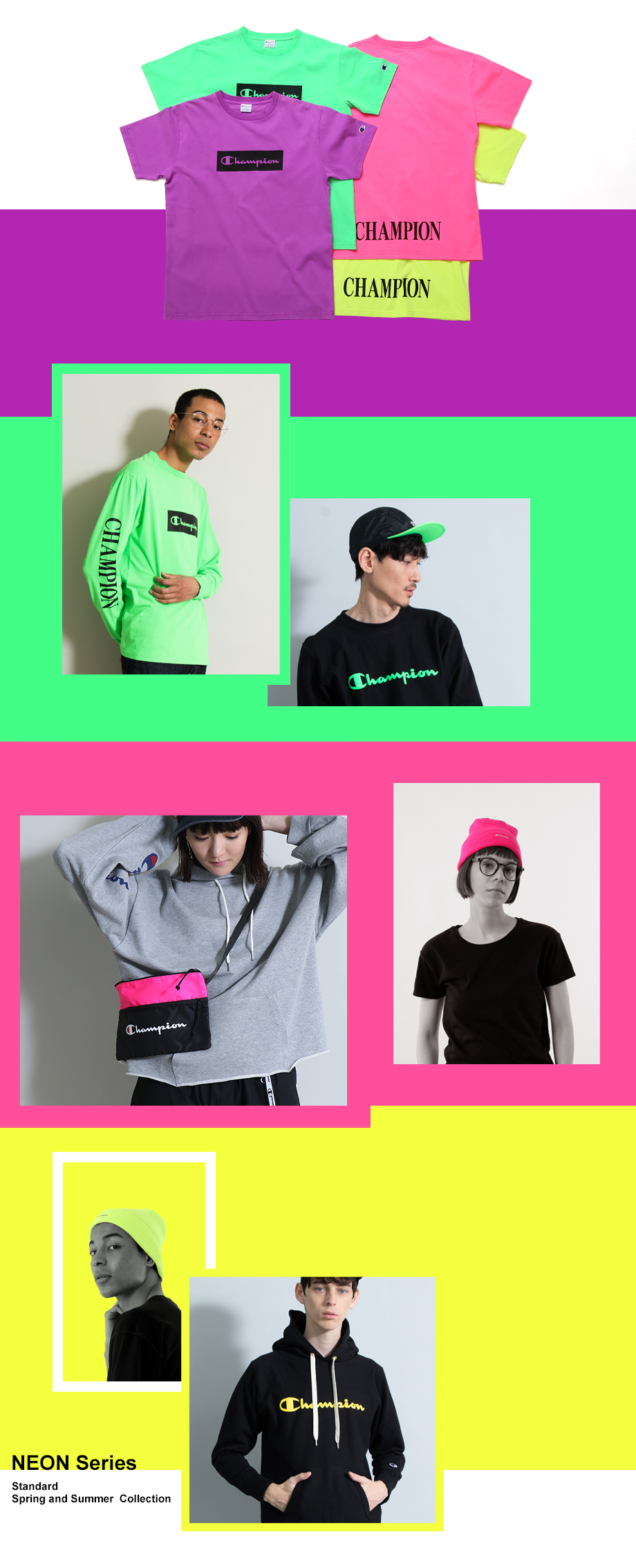 NEON シリーズ | STANDARD 2019 Spring and Summer Collection