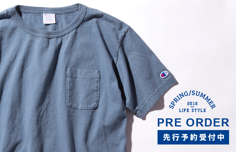 【先行予約商品】2016 SPRING & SUMMER COLLECTION