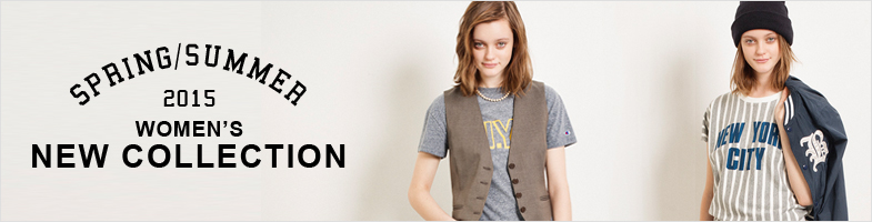 2015 SPRING & SUMMER WOMEN'S COLLECTION