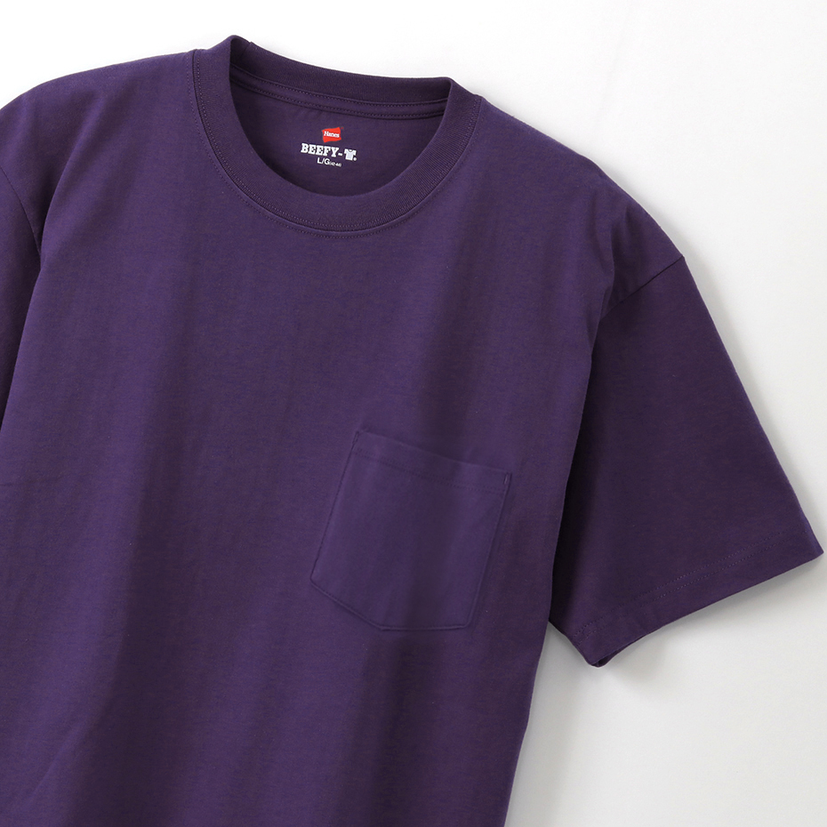 ビーフィーポケットTシャツ 19FW BEEFY-T ヘインズ(H5190)