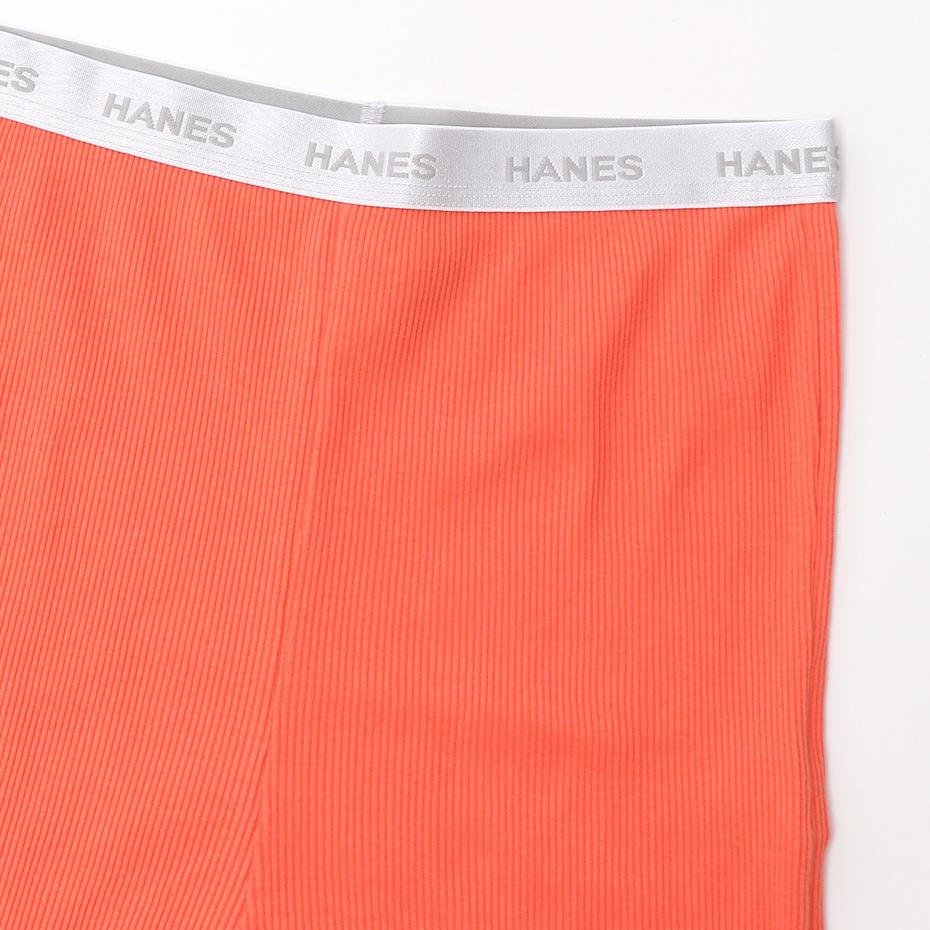 ウィメンズ Rib-Pan 20SS Hanes Undies ヘインズ(HW6-P201)