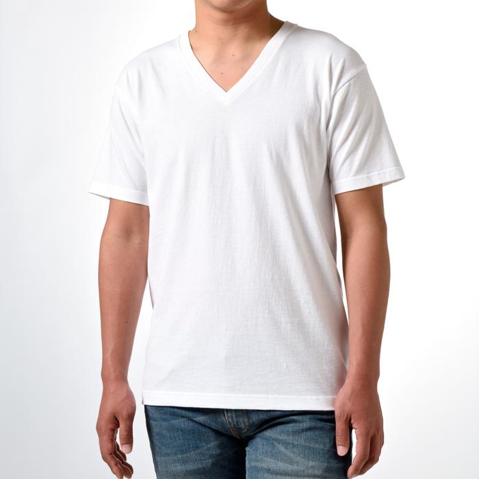 ジャパンフィット ブルーパック【2枚組】VネックTシャツ 19FW Japan Fit ヘインズ(H5215)