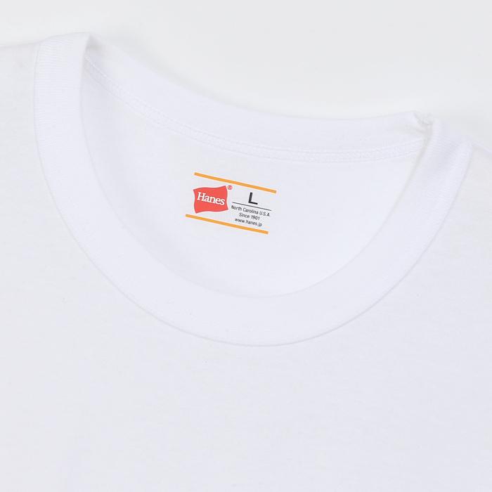 大きいサイズ 【2枚組】男着魂 クルーネックTシャツ 17FW 魂シリーズ ヘインズ(HM1-G701)
