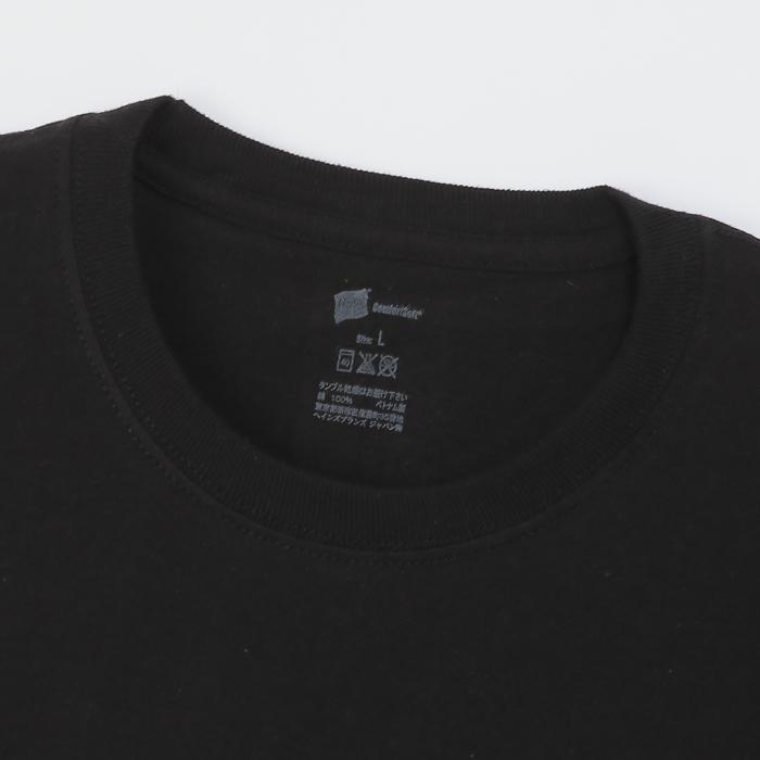 【2枚組】リングスパンクルーネックTシャツ 17FW グローバルバリューライン ヘインズ(HM1EG702)