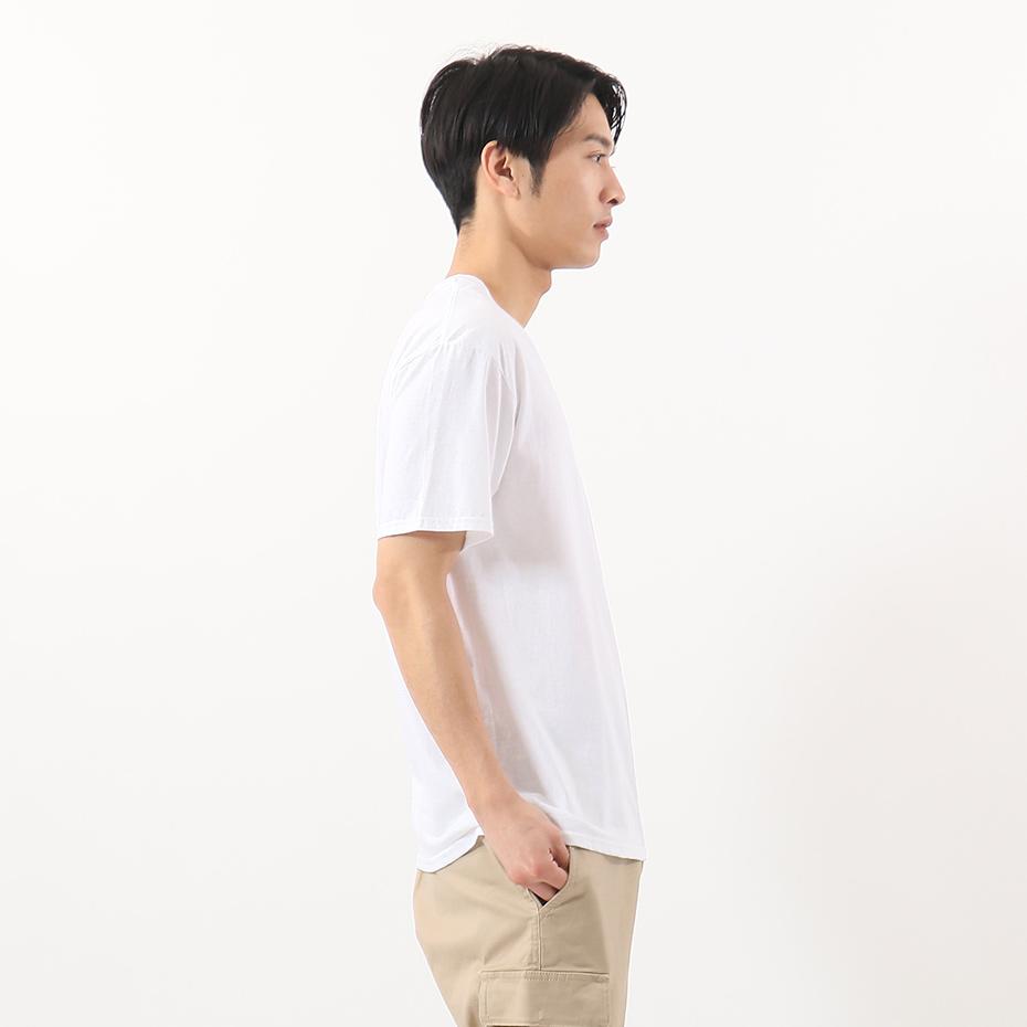 【3枚組】オープンエンドVネックTシャツ 20SS グローバルバリューライン ヘインズ(HM1EG753)